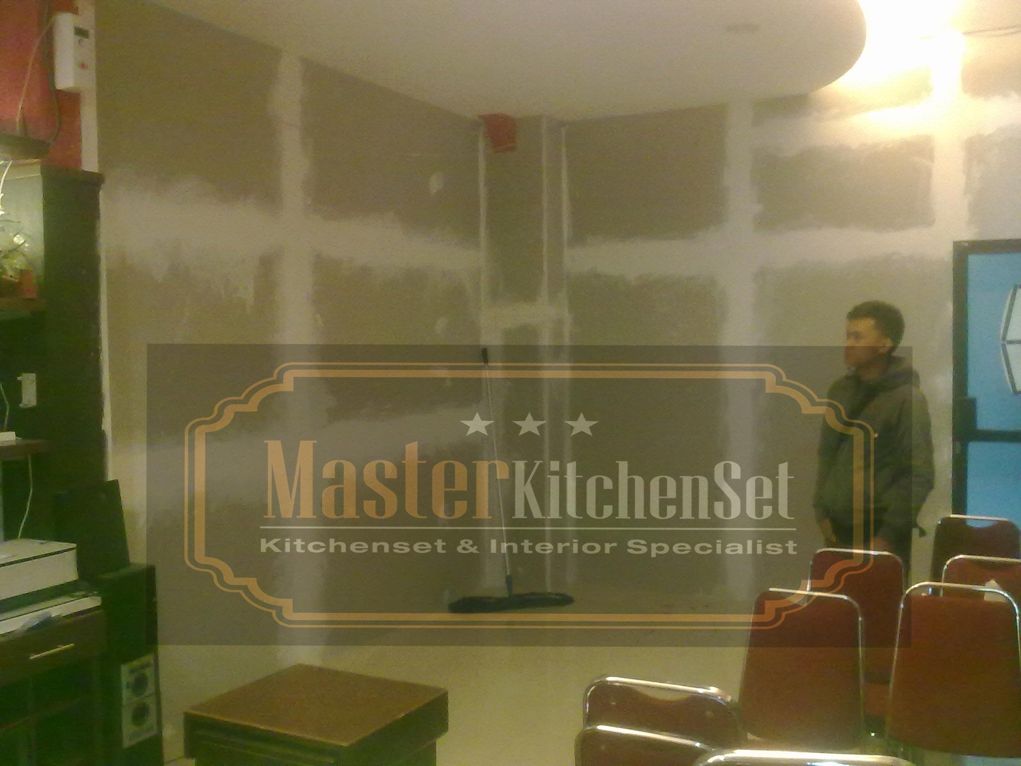 Desain interior ruang ppds rs moewardi solo kitchen set for Kitchen set yang sudah jadi
